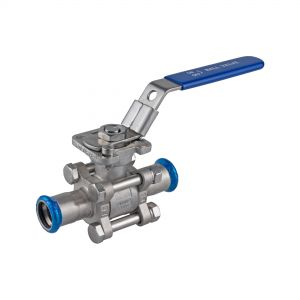 3-pc. press ends Ball Valve