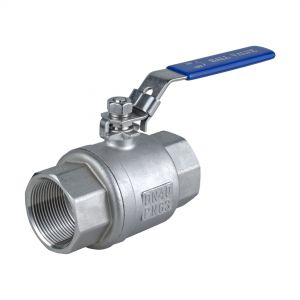 2-Piece Ball Valve, full bore, length acc. to DIN 3202 M3